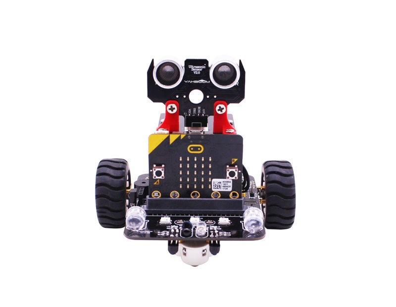 마이크로비트 2wd 지능형 RC카 / Micro:bit 2wd RC smart intelligent robot car(without micro:bit)